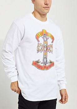 Guns N Roses Long Sleeve Tee