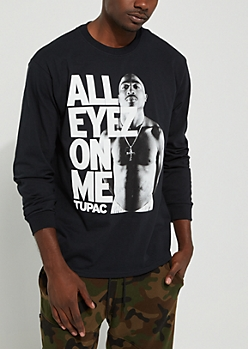 All Eyez On Me Long Sleeve Tee