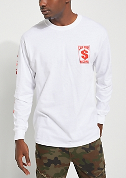 Cash Money Records Logo Long Sleeve Tee