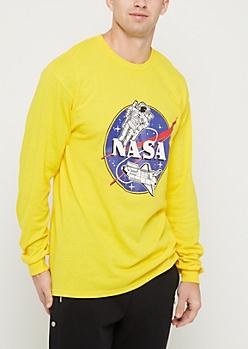 Retro Astronaut NASA Tee