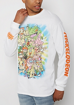 Nickelodeon Gang Long Sleeve Tee
