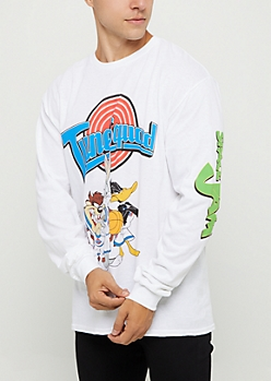 Space Jam Tune Squad Long Sleeve Tee