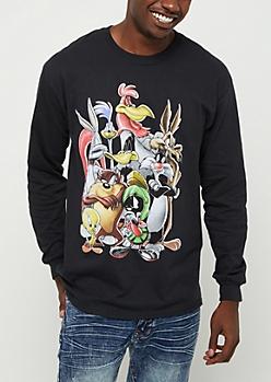 Looney Tunes Crew Long Sleeve Tee