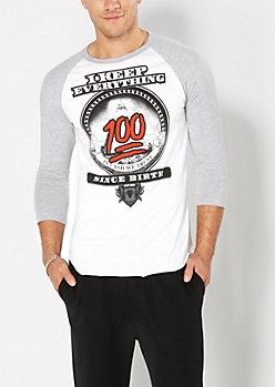 Keep Everything 100 Baseball Top
