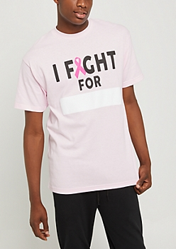 I Fight For Nametag Tee