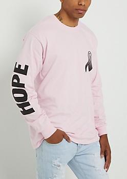 Hope Pink Ribbon Tee