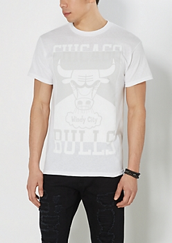 White Out Chicago Bulls Tee