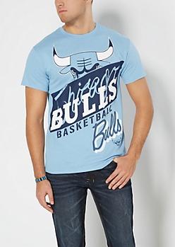 Light Blue Chicago Bulls Tee