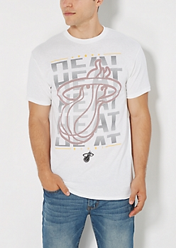 Miami Heat Echo Logo Tee