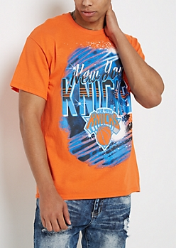 New York Knicks Airbrushed Tee