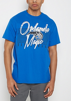 Orlando Magic Vintage Striped Tee