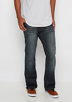 Freedom Flex Dirty Washed Boot Jean