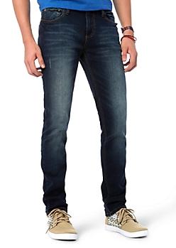 Baked Dark Wash Skinny Jean