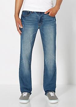 Nicked Slim Straight Jean