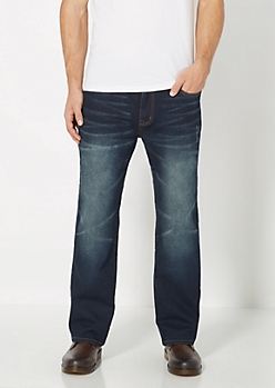 Freedom Flex Vintage Relaxed Straight Jean