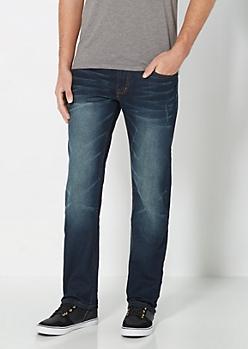 Freedom Flex Sandblasted Slim Straight Jean