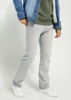 Flex Light Blue Sandblasted Bootcut Jeans