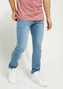 Flex Medium Blue Sandblasted Super Skinny Jeans