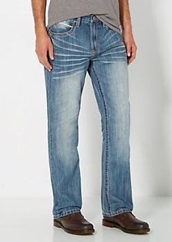 Sandblasted & Baked Boot Jean