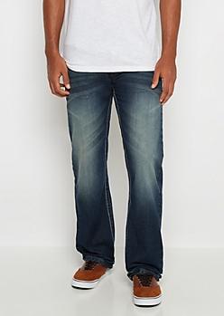 Freedom Flex Dark Sandblasted Boot Jean