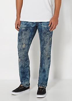 Distressed Vintage Washed Skinny Jean