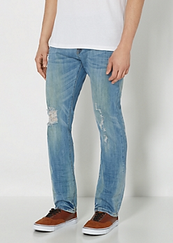 Ripped & Worn Super Skinny Jean