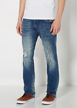 Distressed Super Skinny Jean