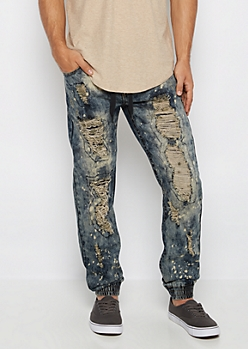 Freedom Flex Paint Splatter Jogger Jean