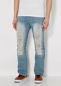 Vintage Ripped Slim Jean