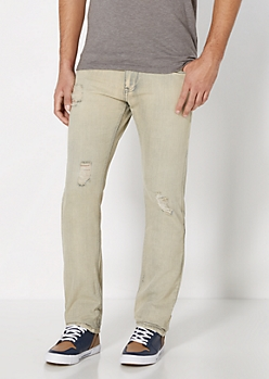 Gray Wash Slim Jean