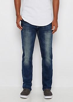 Freedom Flex Moto Pocket Slim Straight Jean