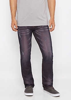 Freedom Flex Pink Coated Slim Jean