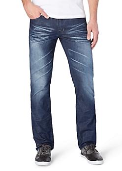 Whiskered & Baked Slim Jean