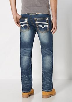 Stitched Pocket Vintage Boot Jean