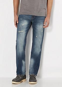 Ripped Weekender Boot Jean
