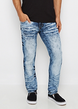 Flex Acid Wash Skinny Jean