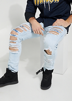 Flex Light Extreme Ripped Skinny Jean