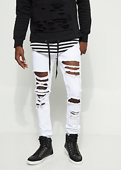 Flex Blown Out Skinny Jeans