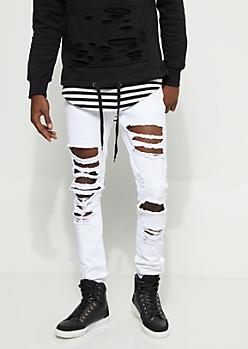 Flex Blown Out Skinny Jeans