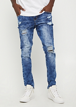 Flex Destroyed Vintage Skinny Jeans