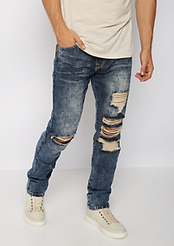 Flex Vintage Destroyed Slim Jean