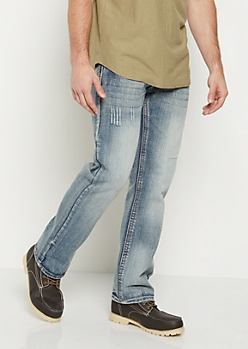 Nicked Vintage Washed Bootcut Jean