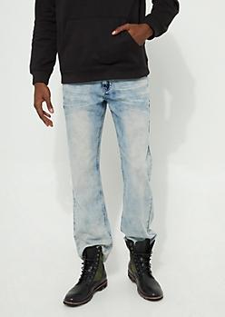 Flex Bleached Light Wash Bootcut Jeans