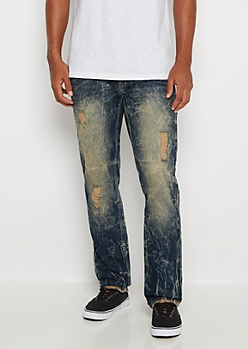 Freedom Flex Dirty Wash Slim Jean