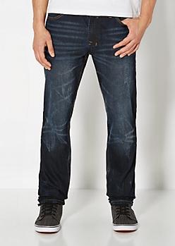 Inky Coated Slim Jean