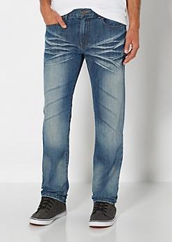 Vintage Baked Slim Straight Jean