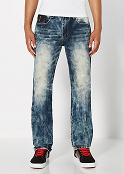 Extreme Wash Relaxed Straight Jean
