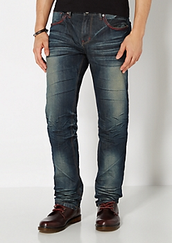 Blasted & Baked Slim Straight Jean
