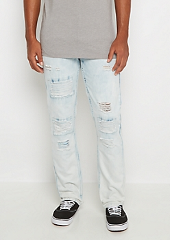 Extreme Wash Ripped Slim Jean