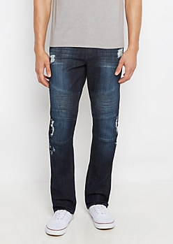 Freedom Flex Distressed Slim Jean